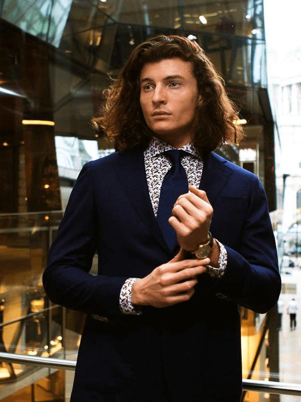 Emanuel Berg kostuum met overhemd