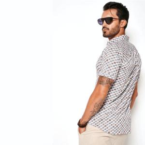 desoto-overhemd-stip-bruin